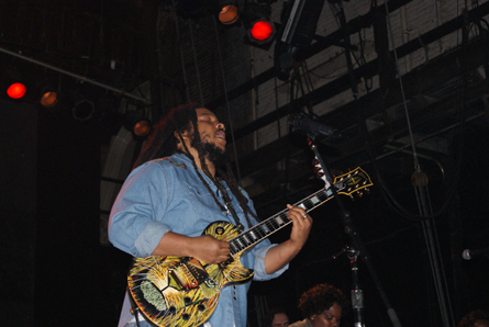 Stephen Marley. Photo by Leon Laing.