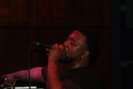 Phonte. Photo by Leon Laing.