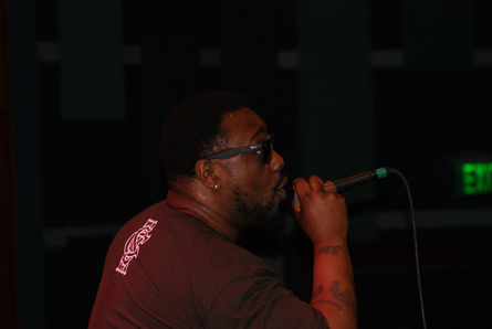 Phonte. Photo Leon Laing.