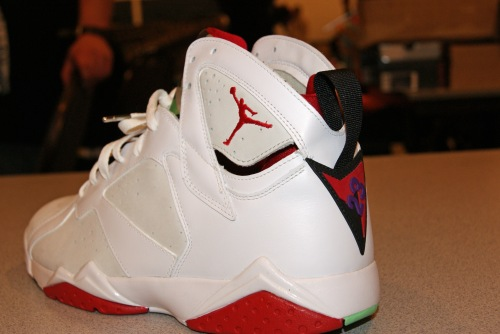 Nike Air Jordan 7 from 2013 expo. Photo by Leon Laing.