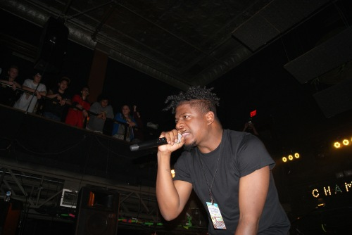 Mick Jenkins. Photo by Leon Laing.