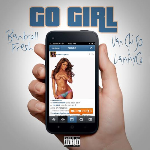 "Cover art for ""Go Girl."""