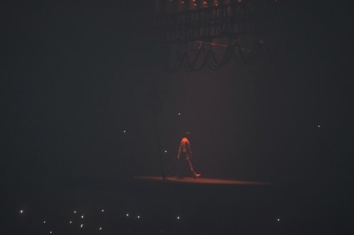 Kanye West. Photo by Leon Laing.